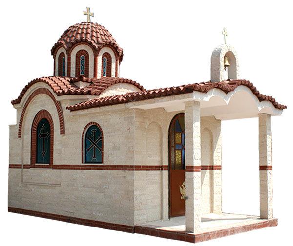 Βυζαντινός Ναός Επενδυμένος με Μάρμαρο - 709