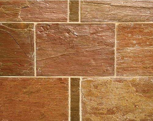 ΑΥΓΗ - Ινδικός σχιστόλιθος κομμένος σε πλακίδιο δαπέδου - Φυσικά Πετρώματα