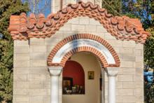 Εκκλησάκι στο ωραιόκαστρο Θεσσαλονίκης στον Ι.Ν. Αγ. Γαλήνης